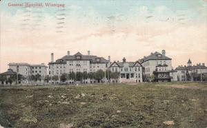 WINNIPEG, Manitoba, Canada, PU-1909; General Hospital