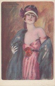 Art Deco ; BOMPARD ; Fashion Woman Portrait #4 , 1910-20s