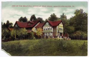 1907-15 One of the Beautiful Homes at Bear Creek Near Wilkes-Barre Luzerne RARE