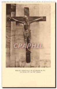 St Savin Old Postcard L & # abbey 39eglise Christ