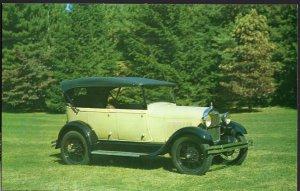 Classic Car Postcard 1928 FORD Model A Phaeton