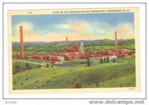 American Viscose Corporation Plant, Parkersburg, West Virginia, 1946