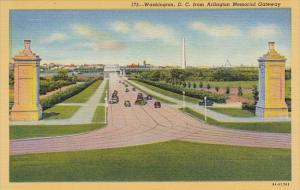 Washington D C From Arlington Memorial Gateway Washington D C