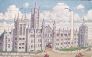 Scotland Aberdeen Marischall College With Fold Open Pocket 1956