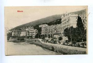 192753 Croatia Opatija ABBAZIA embankment Vintage postcard