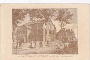 Pennsylvania Philadelphia Founders Week Old Lutheran Church On Fifth Street