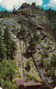 Colorado Colorado Springs Eagles Nest Incline and Stairway To Sevene Falls At...