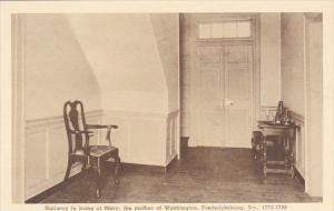 Hallway In Home Of Mary The Mother Of Washington Fredericksburg Virginia