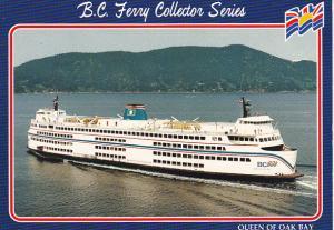 Canada Ferry Queen Of Oak Bay British Columbia Ferries