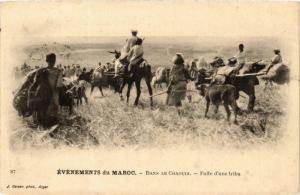 CPA Geiser 87 Événements du Maroc Dans le Chaouia MAROC (757956)