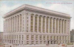 Illinois Chicago City Hall and Court House