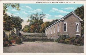 Vermont Bennington Vermont Historical Museum Curteich