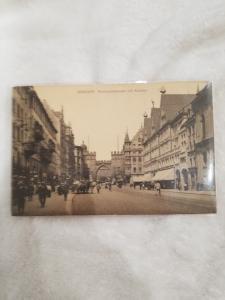 Antique Postcard, Munchen Newhauserstrasse mit Karistor