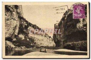 Postcard Old La Douce France Gorges du Tarn Lozere La Malene