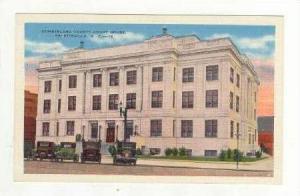Cumberland County Court House, Fayetteville, North Carolina 1930-40s