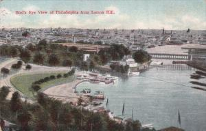 Bird's Eye View of Philadelphia from Lemon Hill, Pensylvania, 00-10s