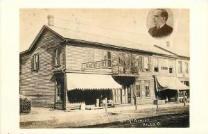 Niles Ohio~J S Benedict Store~President McKinley Birthplace c1915 RPPC