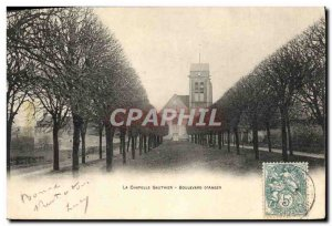 Old Postcard La Chapelle Boulevard D & # 39Anger