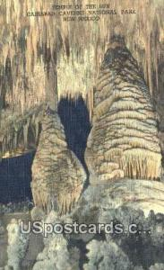 Temple of the Sun, Big Room Carlsbad Caverns National Park NM Unused