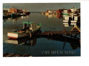 Large 5 X 7 inch, Glace Bay Harbour, Cape Breton, Nova Scotia