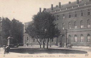 SAINT QUENTIN, Aisne, France, 1900-1910's; Le Lycee Henri-Martin