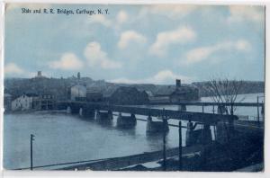 State & RR Bridges, Carthage NY