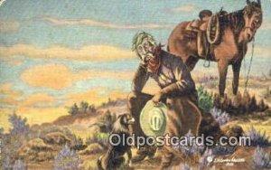No. 3 Artist L.H. Larson Postcards Post Cards Old Vintage Antique unused