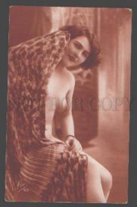 098322 NUDE Woman BELLE vintage LEO PHOTO #63