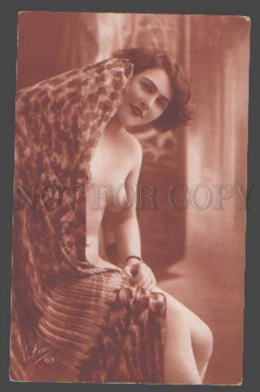 098322 NUDE Woman BELLE vintage LEO PHOTO #63