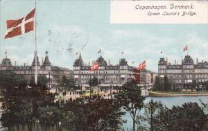 Copenhagen , Denmark. PU-1908 ; Queen Louise's Bridge