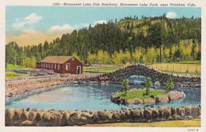 Colorado Monument Lake Park Monument Lake Fish Hatchery Near Trinidad 1949