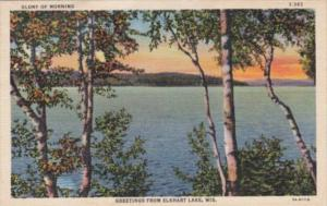 Wisconsin Greetings From Elkhart Lake Curteich
