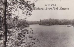 RP, Lake Scene, Shakamak State Park, Indiana, PU-1957