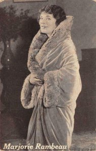 MARJORIE RAMBEAU Merely Mary Ann Silent Film Actress 1926 Vintage Postcard