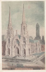NEW YORK CITY , 1930s ; St. Patrick's Cathedral