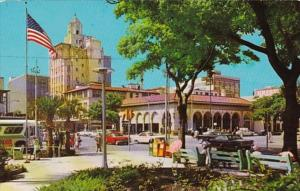 Florida St Petersburg Open Air Post Office and Downtown Business Section