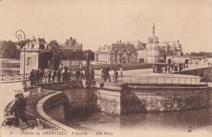 L'Entree, Chateau De CHANTILLY (Oise), France, 1900-1910s