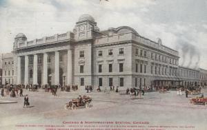 CHICAGO, Illinois, PU-1912; Chicago & Northwestern Station