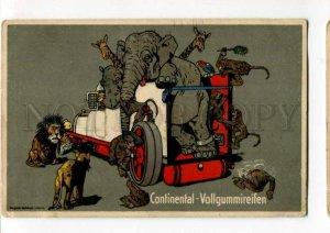 288380 CONTINENTAL VOLLGUMMIREIFEN Elephant LION ADVERTISING