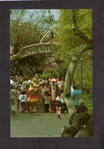 CA Disneyland Winnie the Pooh Tigger Amusement Park Anaheim California Postcard