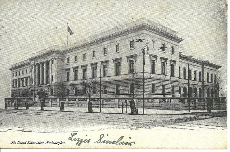 1907 The United States Mint, Philadelphia, PA