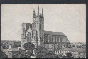 Yorkshire Postcard - Bridlington: Priory Church   T2781