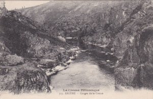 ANZEME, Creuse, France; Gorges de la Creuse, La Creuse Pittoresque, 00-10s