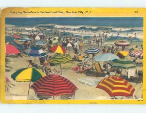 Linen SEA ISLE CITY BEACH Cape May New Jersey NJ M7872