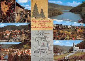 Frankenwald Hochstrasse, Wallenfels Duerrenwaid Kirche Nordhalben Steinwiesen