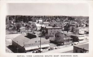 RP: Panorama view from air , Looking South East , MANIWAKI , Quebec , Canada , 3