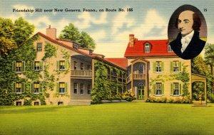 PA - New Geneva. Friendship Hill, Home of Albert Gallatin