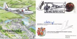 Hunting Percival Pembroke Aircraft Historic Flight Plane First Day Cover