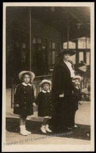 Austria WWI Kaiserin Zita Wife Kaiser Karl Franz Joseph Successor  RPPC 65718