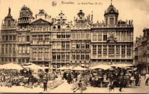 Belgium Brussels La Grand' Place
